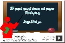 سورس کد IP Address و Hostname