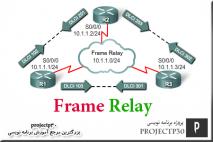 شبیه سازی تکنولوژی frame relay در wan