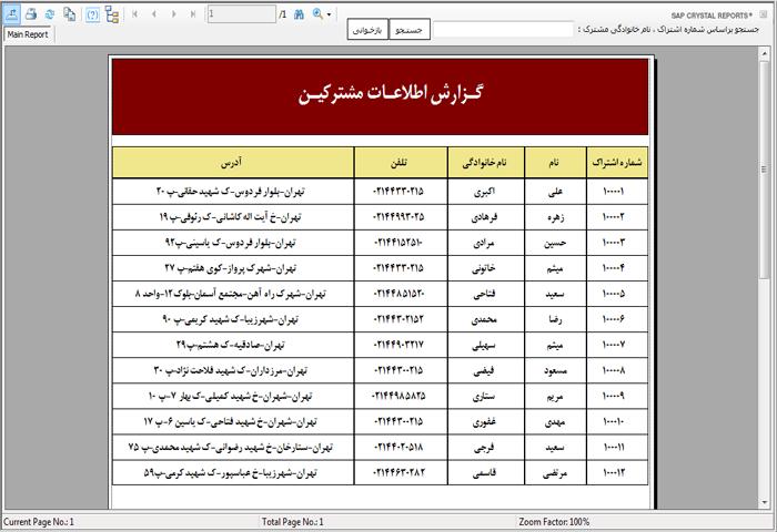 پروژه نرم افزار آژانس تاکسی