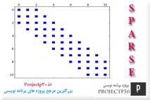 پروژه ماتریس اسپارس با c++