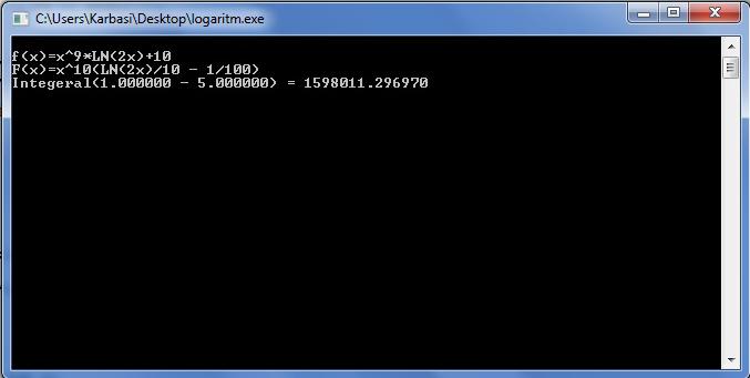 پروژه حل انتگرال در c++