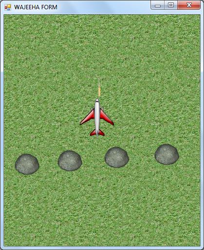 پروژه بازی هواپیما با سی شارپ