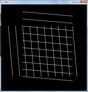 پروژه رسم خط با c++